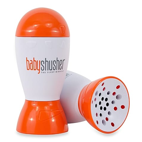 "The <a href=""http://www.babyshusher.com"" target=""_blank"">baby shusher</a> is my number one recommended sound machine."